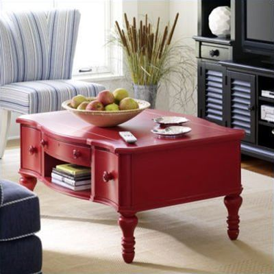 coffee table merah