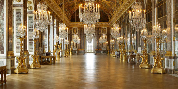 Istana Versailles Hall of Mirrors
