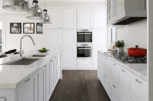 cabinet kitchen warna putih