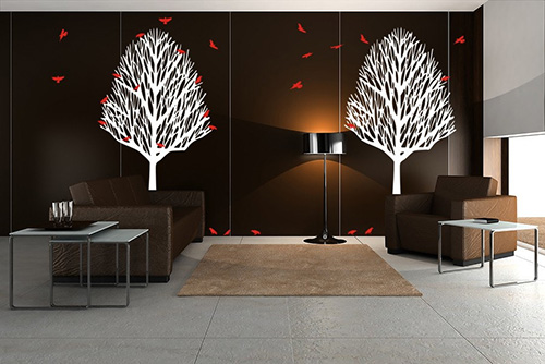 wall sticker for interior design