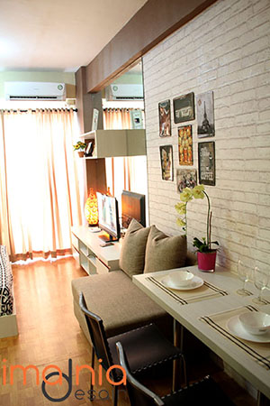 Meja Makan Apartement City Light